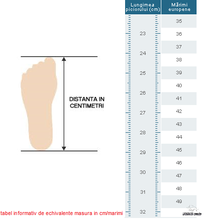 foot size-chart